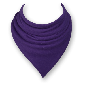 purple bib